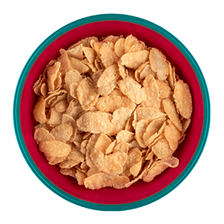 fiocchi di mais al naturale cereali breakfree